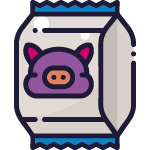 animal food package icon