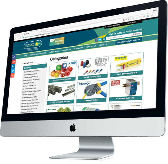 category web page of demesne electrical