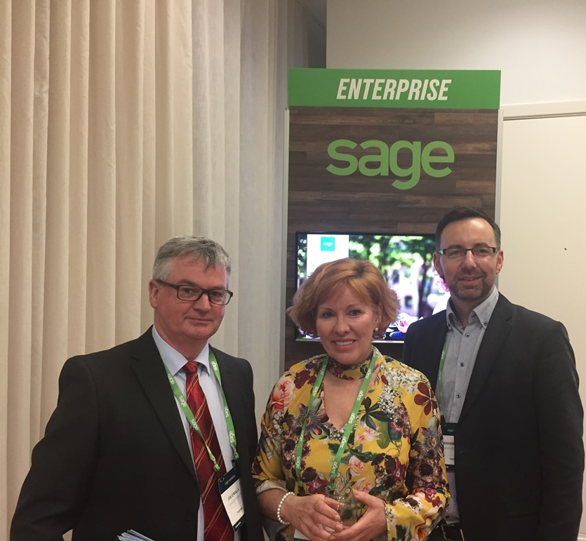 Joe O'Reilly, Deborah Welby & Graham O'Rourke from Aphix at Sage Sessions London